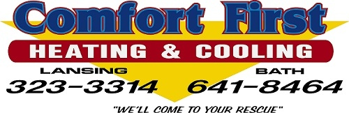 Call Comfort First Heating & Cooling, Inc. for reliable Furnace repair in DeWitt MI