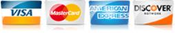 For AC in DeWitt MI, we accept most major credit cards.